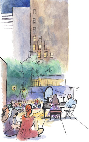 lucinda rogers drawing illustration new yorker new york moma music